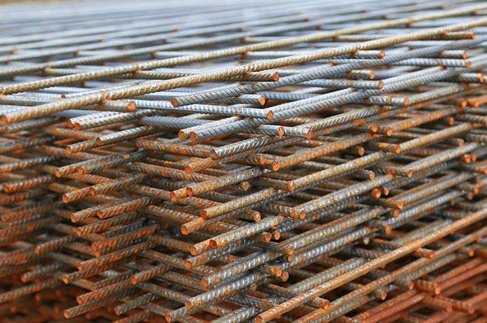 rete in acciaio elettrosaldata