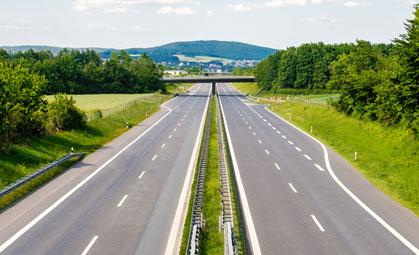 autostrada miniatura