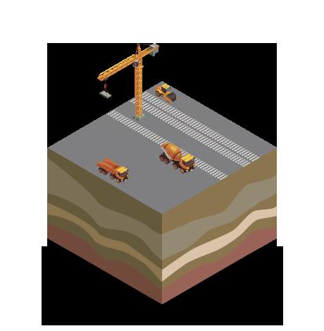 ferrovie fase di costruzione