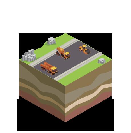 strade e autostrade costruzione