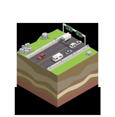 strade e autostrade monitoraggio manutenzione