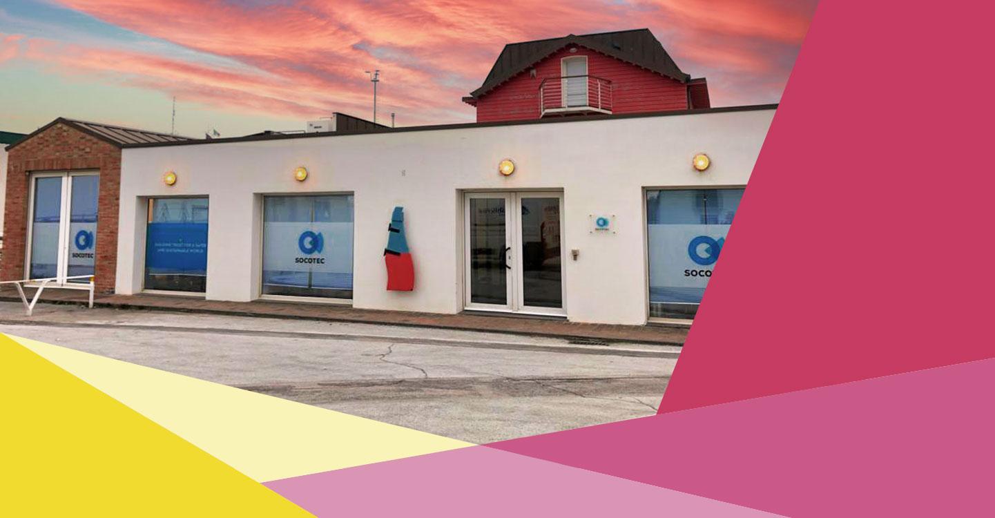 Rebranding SOCOTEC Senigallia