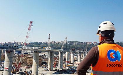 Ponte di Genova San Giorgio miniatura