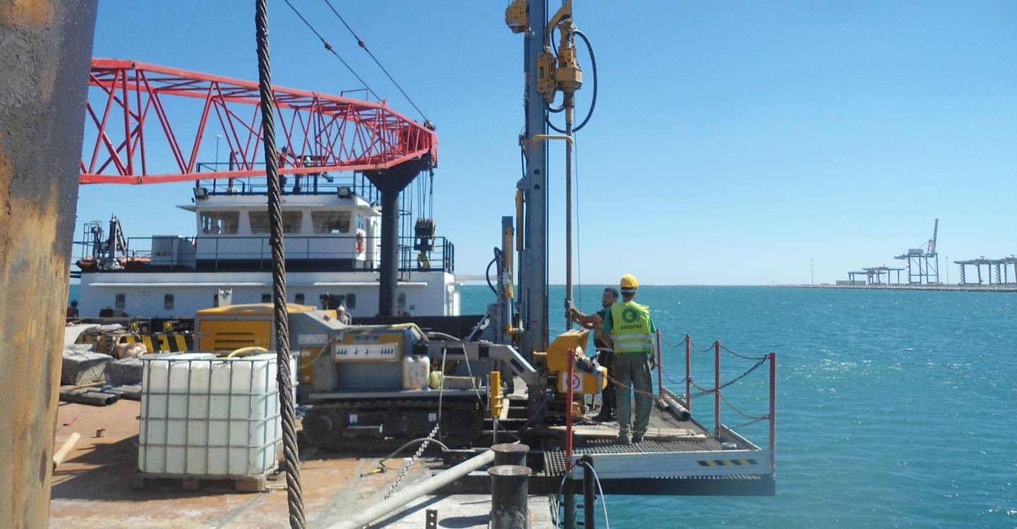 Indagini geotecniche nel porto di Taranto