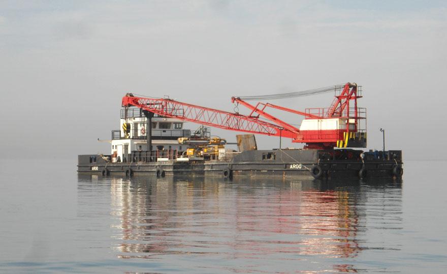 Indagini nel porto di Taranto