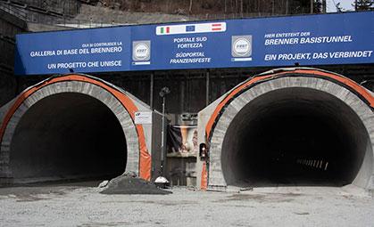 Tunnel di Base del Brennero miniatura